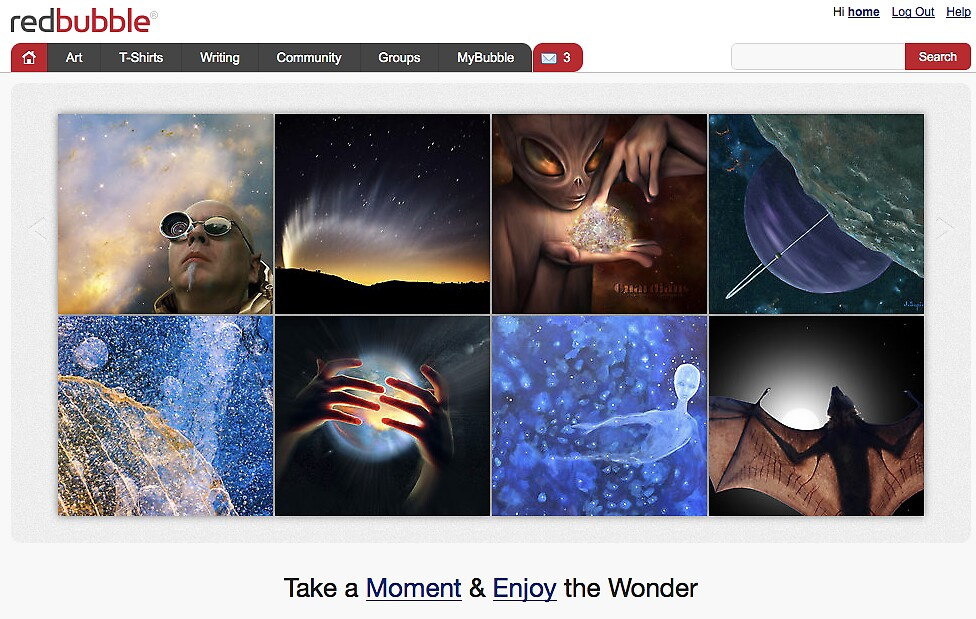 holy COSMOS! - 3 October 2010 by The RedBubble Homepage