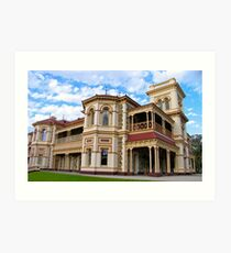 Paringa Hall, Brighton Adelaide Art Print