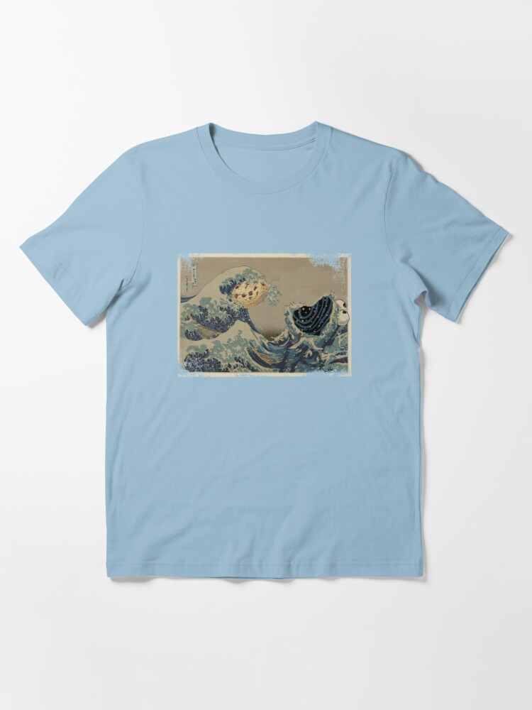 Alternate view of The great wave off Cookiemonsta Essential T-Shirt