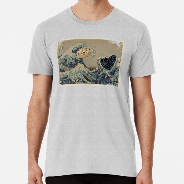 La grande vague de Cookiemonsta T-shirt premium
