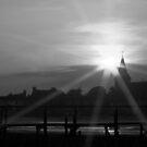 Sunset over Bosham by ChromaticTouch
