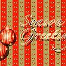 Season's Greetings - Orange by ChiaraLily