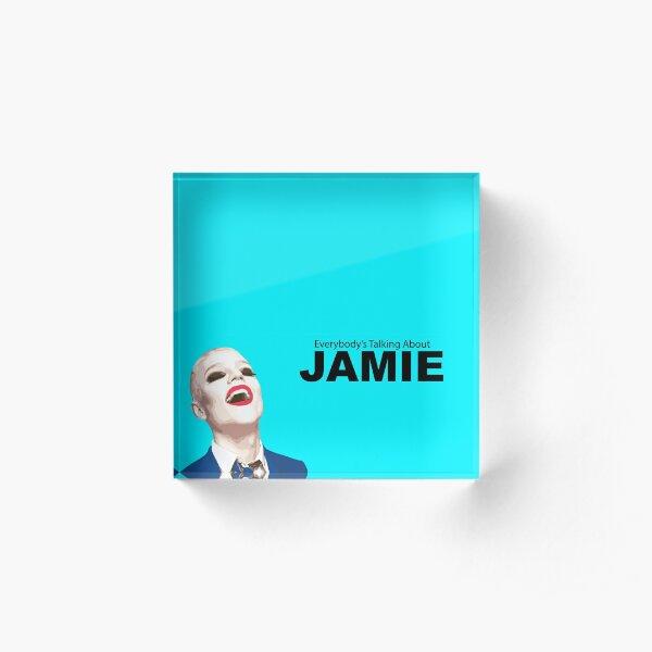 Everybody's Talking about Jamie Acrylic Block