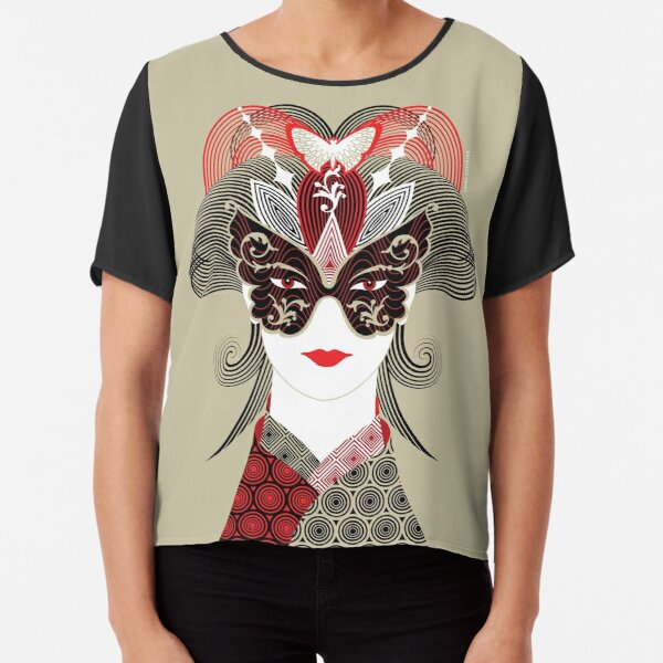 Madame Batterfly Japan 02 Collection  Chiffon Top
