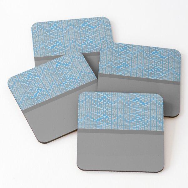Guja (Blue) Coasters (Set of 4)