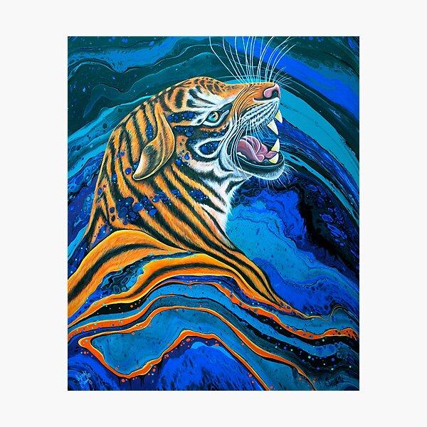 Tiger - Hear me Roar Photographic Print