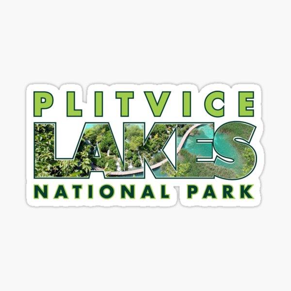 Plitvice Lakes National Park Tee Sticker