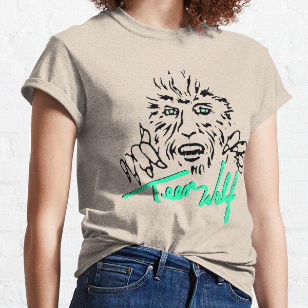 retro teen wolf shirt Classic T-Shirt