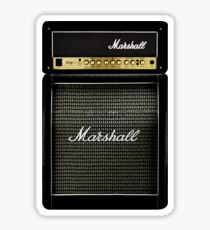 Black and gray color amp amplifier Sticker