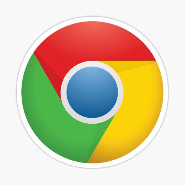 Google Chrome Current Logo Sticker