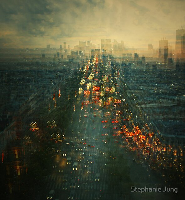 Another view of Paris.. by Stephanie Jung