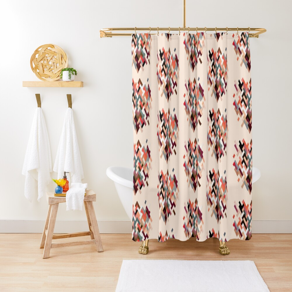 SK9 Shower Curtain