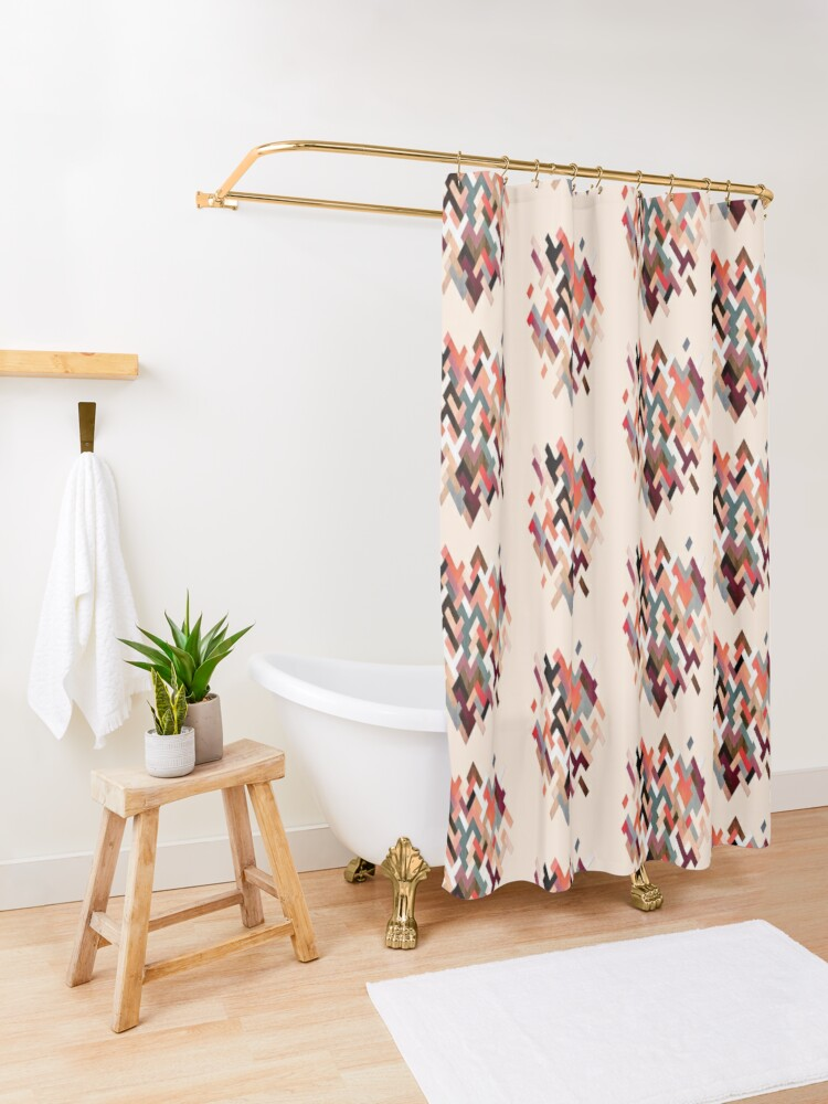 Alternate view of SK9 Shower Curtain