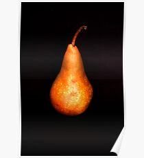 Bosc Pear Poster