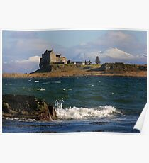 Scotland : Duart Castle in Winter Poster