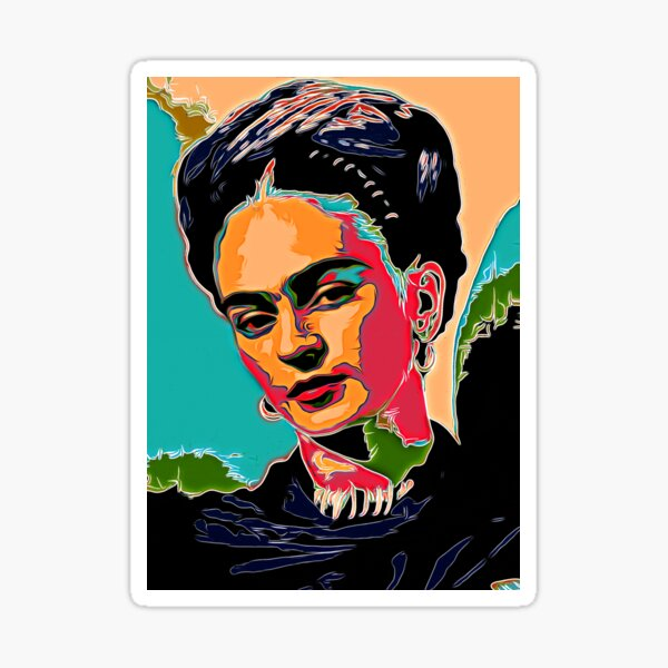 The Iconic Lady  Sticker