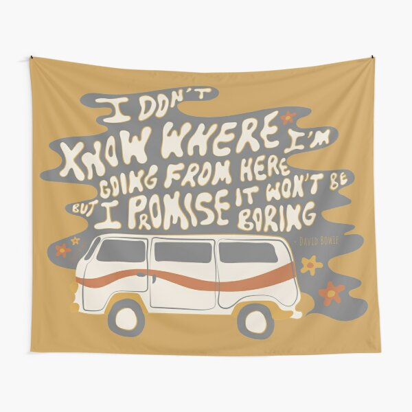 I don't know where I'm going Tapestry