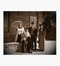 A Vintage Walk Photographic Print