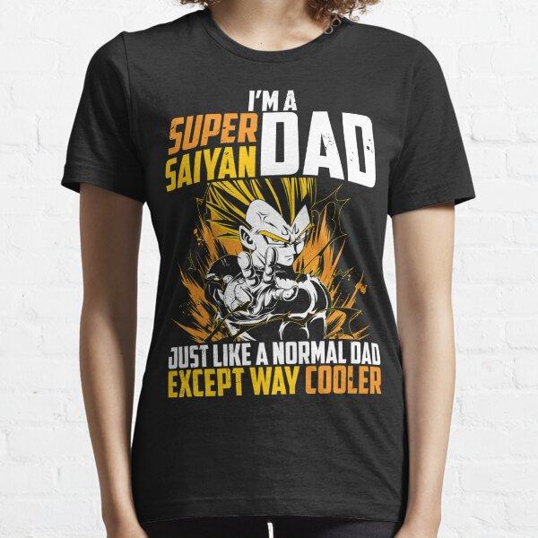 Super Saiyan dad vegeta t shirt Essential T-Shirt