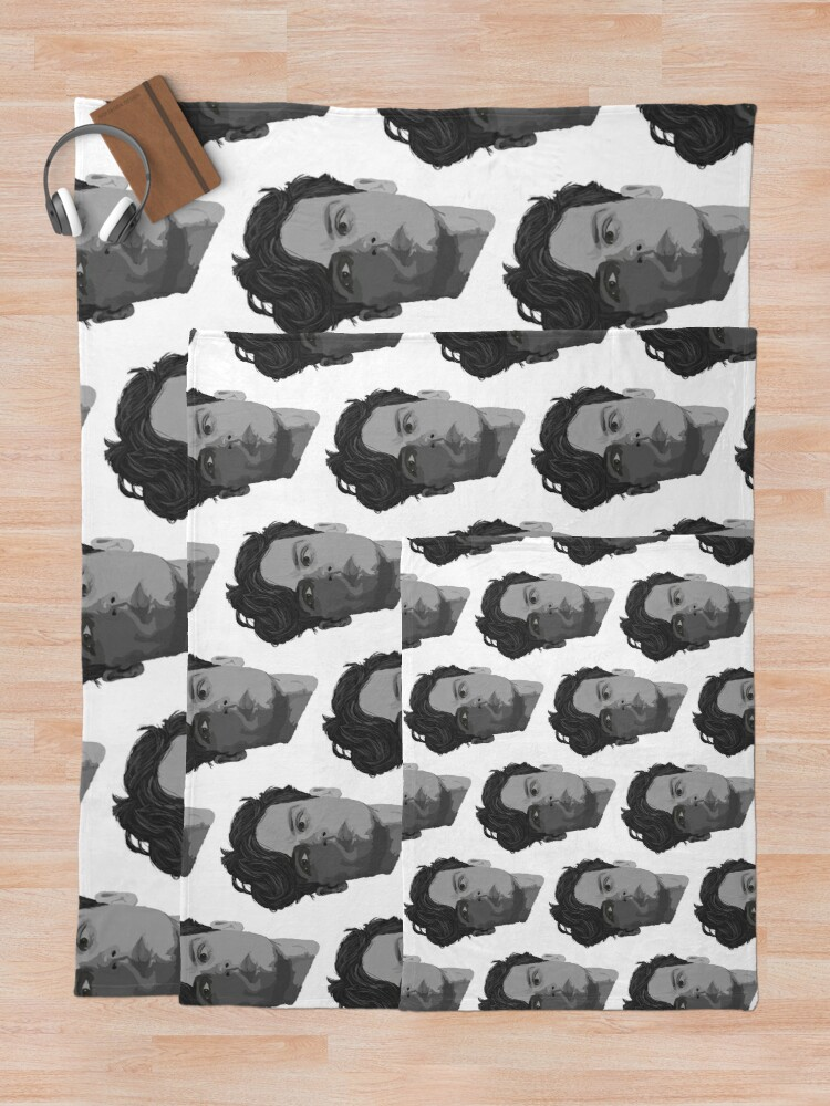 Alternate view of Spencer Reid from Criminal Minds Throw Blanket