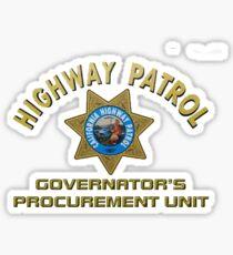 CHP Governor's Procurement Sticker