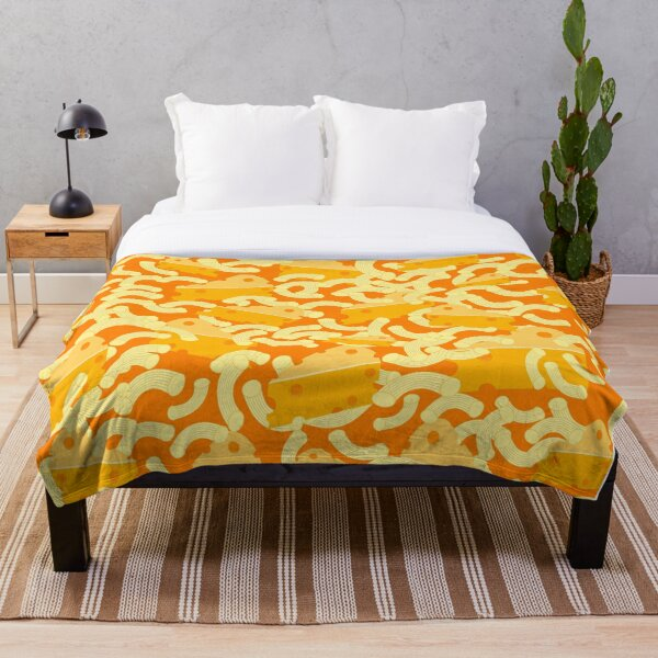 Mac And Cheese Throw Blanket