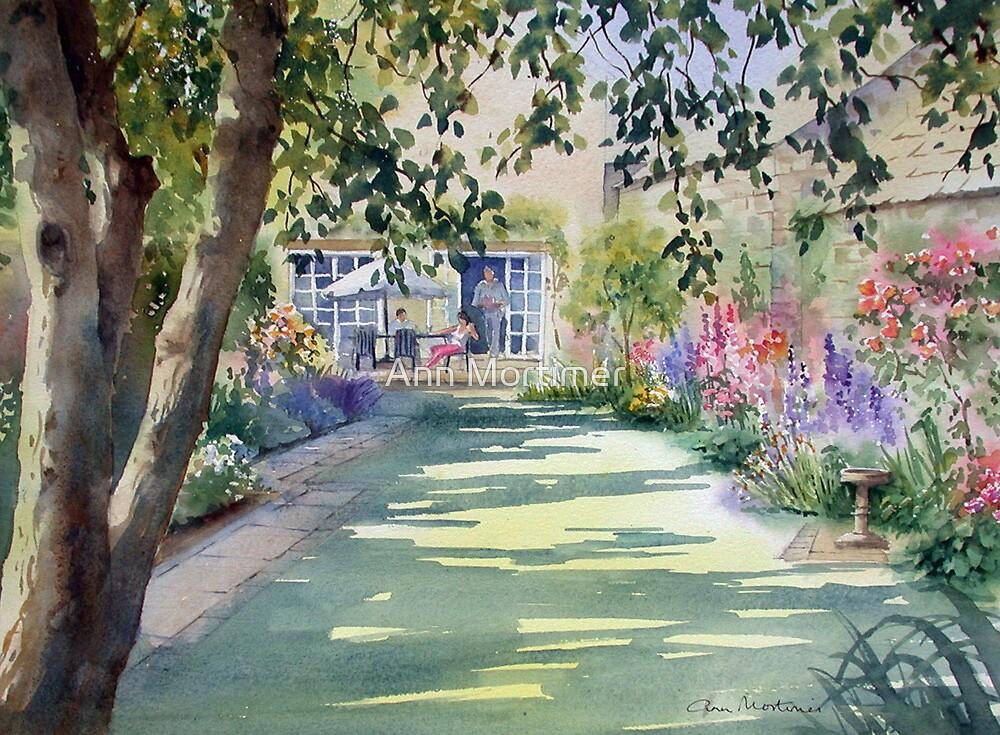 u0026quot walled garden u0026quot  by ann mortimer