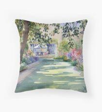 Walled garden Throw Pillow