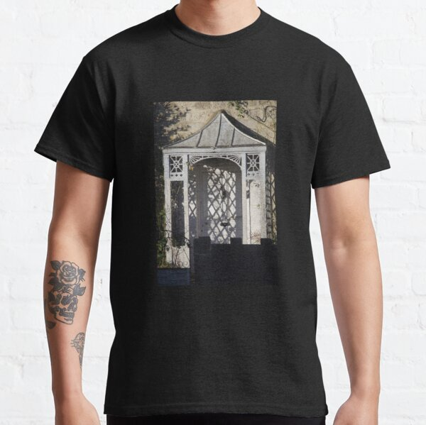Light And Shadows On A Victorian Porch Classic T-Shirt
