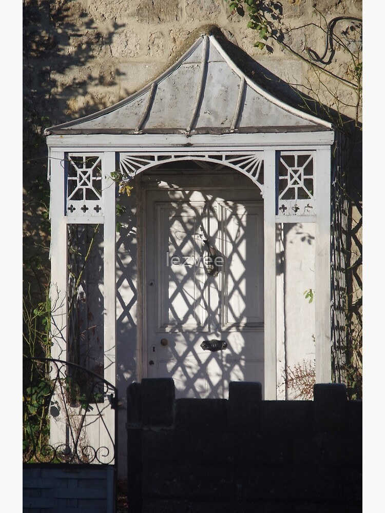Light And Shadows On A Victorian Porch by lezvee