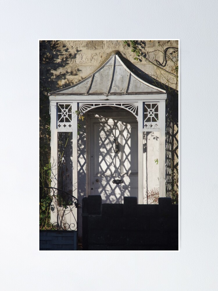Alternate view of Light And Shadows On A Victorian Porch Poster