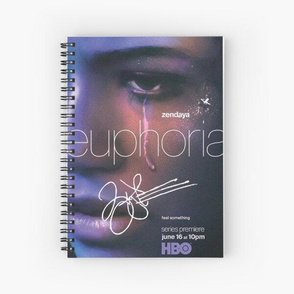 """Zendaya Signé """"Euphoria"""" Affiche Cahier à spirale"""