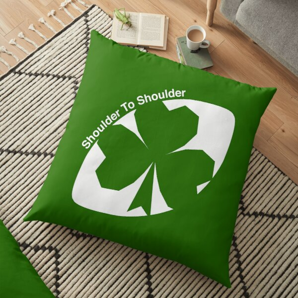 Rugby Ireland Floor Pillow