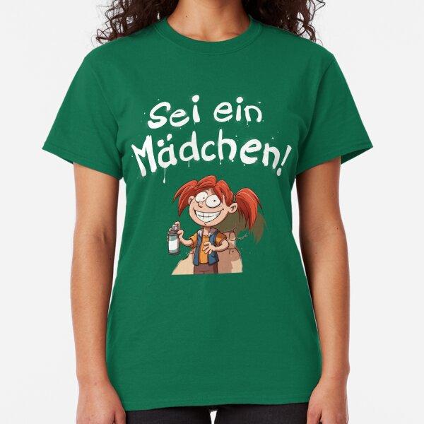Sei ein Mädchen - Cover Classic T-Shirt