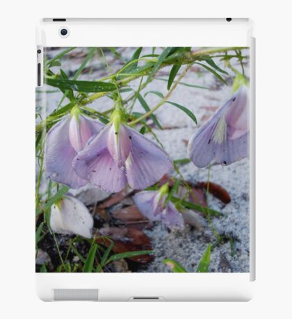 Butterfly Pea - a species of Clitoria iPad Case/Skin