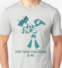 Teenage Robot - Raise Your Lasers T-Shirt