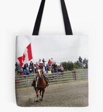 Galloping Flag Tote Bag