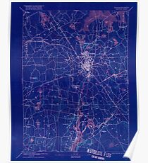 Massachusetts  USGS Historical Topo Map MA Taunton 353067 1893 62500 Inverted Poster