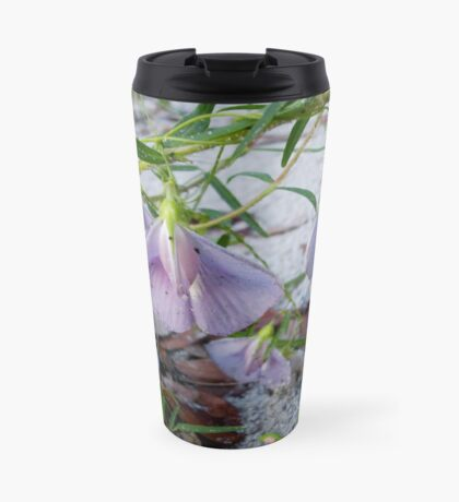 Butterfly Pea - a species of Clitoria Travel Mug