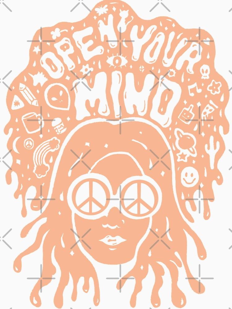 Open Your Mind in Orange by doodlebymeg