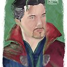 Benedict Cumberbatch FANART 2 by liajung