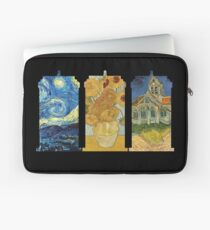 Vincent and The Doctor (Black) Laptop Sleeve