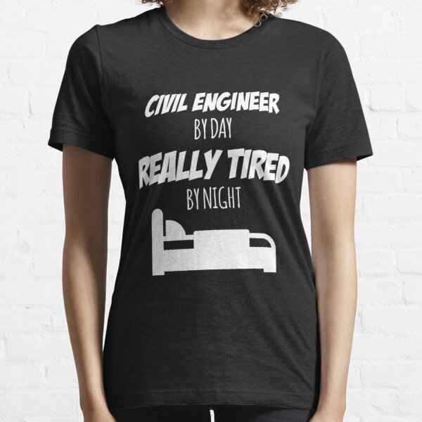 Enginerd T-SHIRT Engineer Civil Electrical Structural Mechanical birthday funny