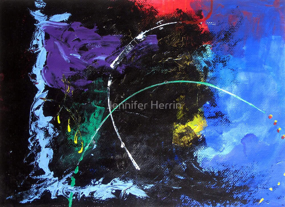 10-minute Painting by Jennifer Herrin