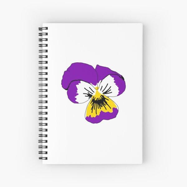 Intersex Pride Flower Spiral Notebook
