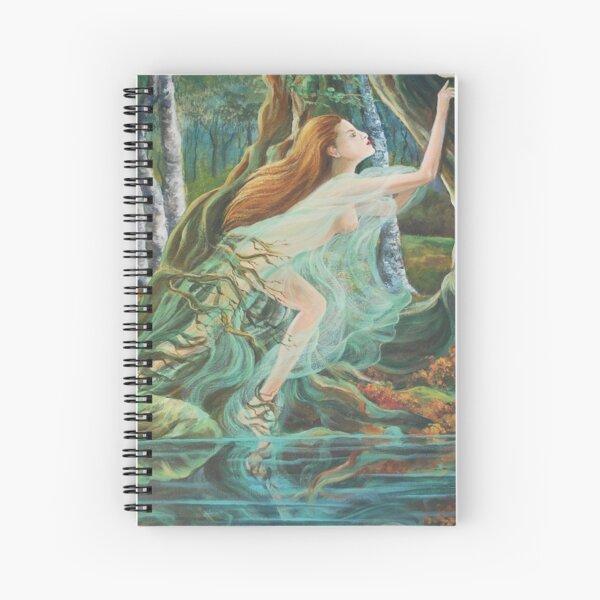 Nymph Spiral Notebook