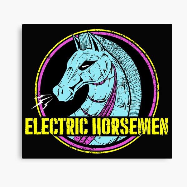 Electric Horsemen 2019 Canvas Print