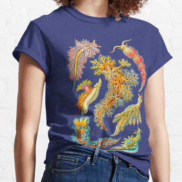 Ernst Haeckel Nudibranch Sea Slugs Classic T-Shirt