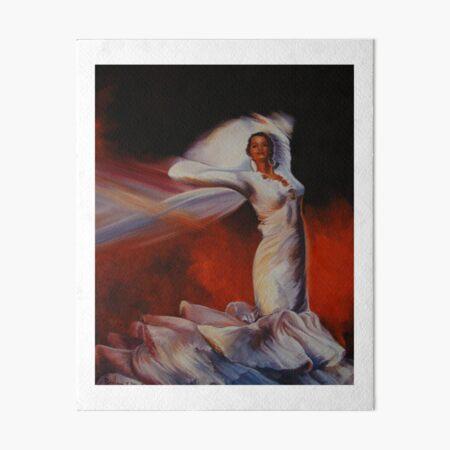 Spanish dancer Art Board Print