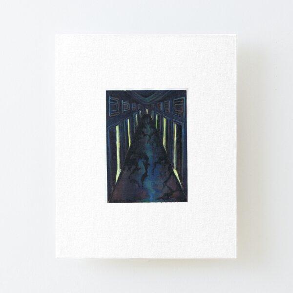Corridors Canvas Mounted Print